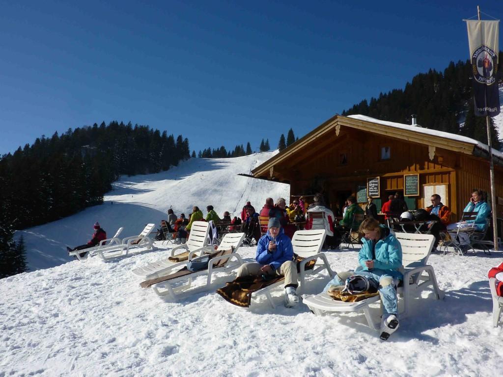Wintersonnentag am Brauneck